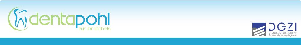 Fachlabor für Implantologiefür die Region Zwickau. Zahnersatz mit Garantie. Logo